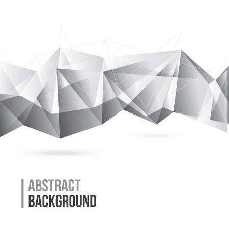 Abstract Polygonal Background Ilustracja