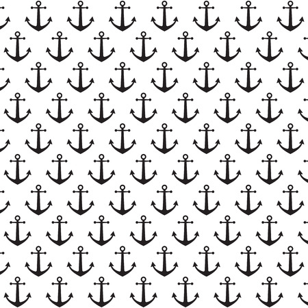 Anchor pattern background Vector