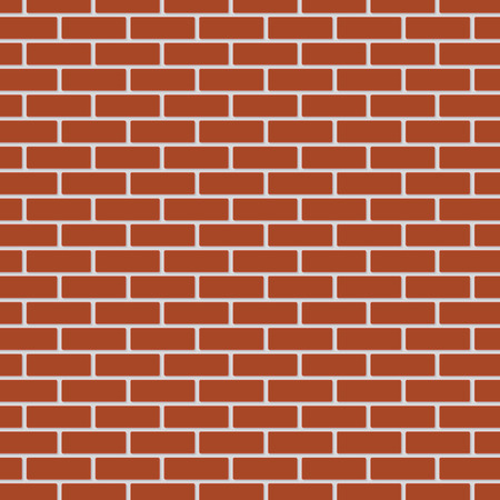 red brick: Red brick wall Illustration