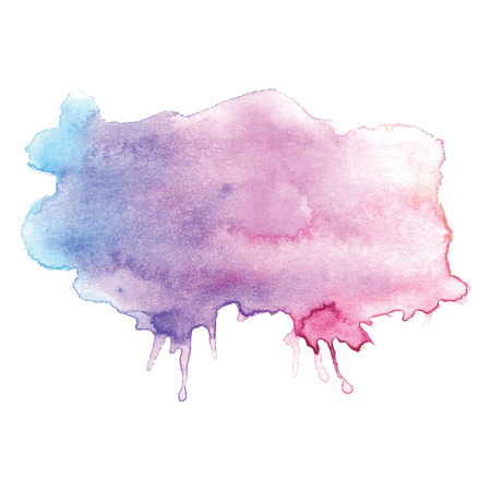 ombre: Watercolor vector design element
