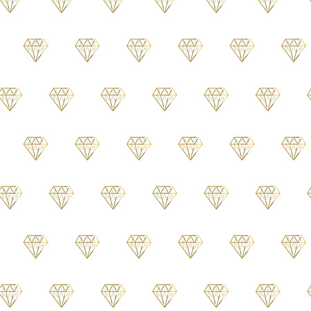 Golden shiny diamond pattern