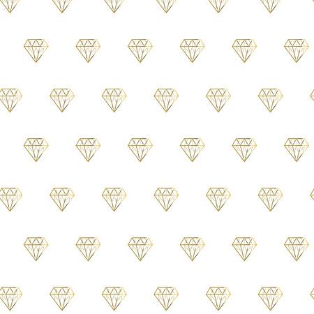 patterns vector: Golden shiny diamond pattern