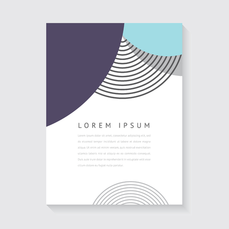 Geometric design for poster, brochure or business card Zdjęcie Seryjne - 64205269