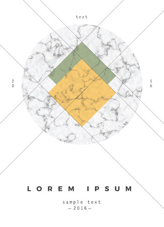 concrete texture: Geometric design for poster, brochure or business card