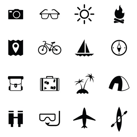 category: Set of Universal Standard Flat Isolated travel Icons. Travel Icons. Vector illustration