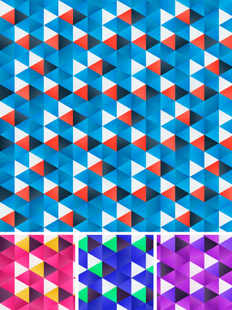 repeats: Geometrical pattern Illustration