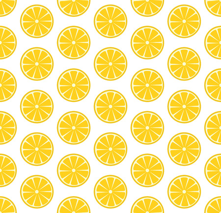 citric: Vector seamless pattern with sliced oranges. Vector illustration. Design element for  for cafe or restaurant or web and print design