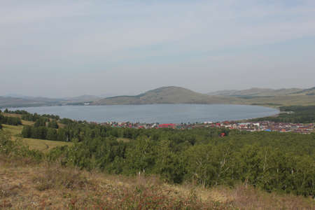 Stunning summer landscape Welcome to the journey to the Urals