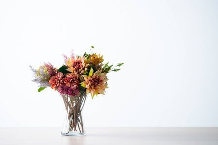 Beautiful bouquet with copy space 写真素材