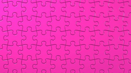 Pink Jigsaw Puzzle