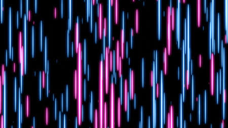 Blue and pink speed light abstract background. 写真素材