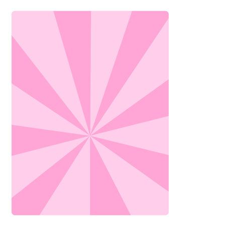 Pink sunburst background Stock Vector - 95057337