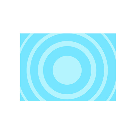Blue circles element