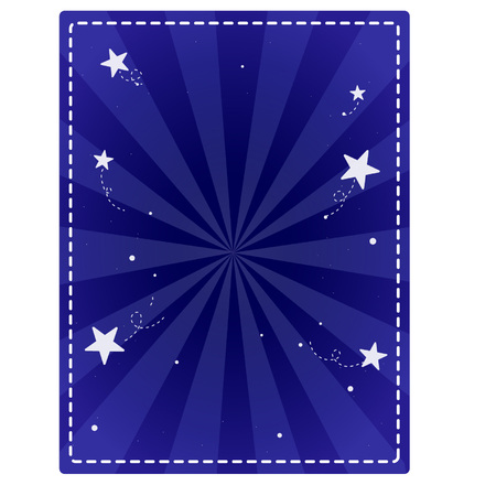 Cartoon starburst background Illustration