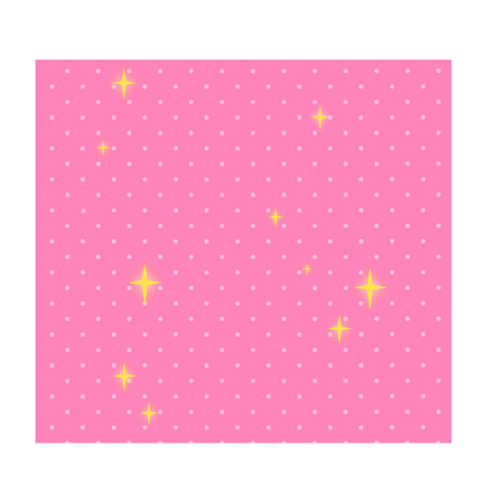 Cartoon starry background Illustration