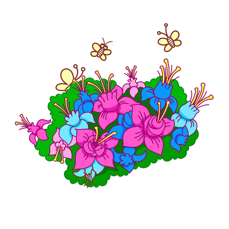 Cartoon Flowers In Vase Royalty Free Cliparts Vectors And Stock