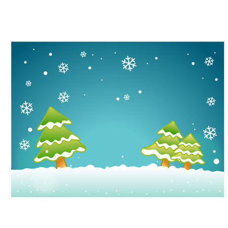 Cute winter theme background