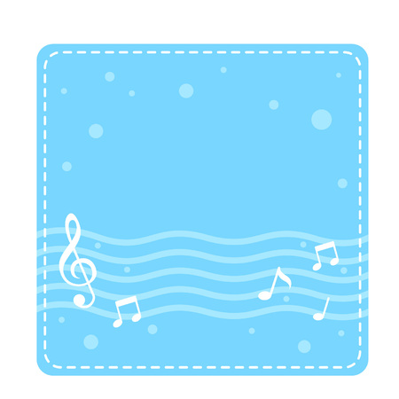 Musical notes background Stok Fotoğraf - 97368423