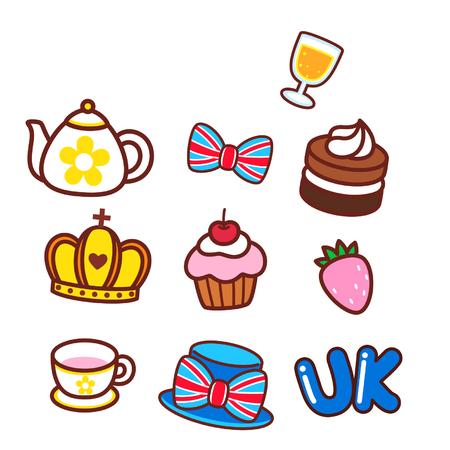 Various objects Ilustração