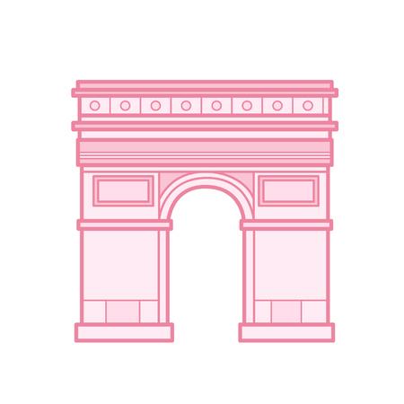 Cartoon Arc de Triomphe