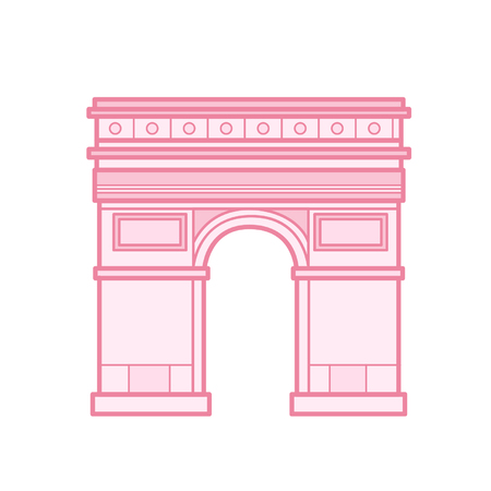 Cartoon Arc de Triomphe
