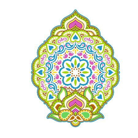 Mandala background Ilustração