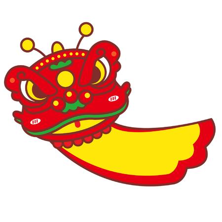 Cartoon lion dance costume