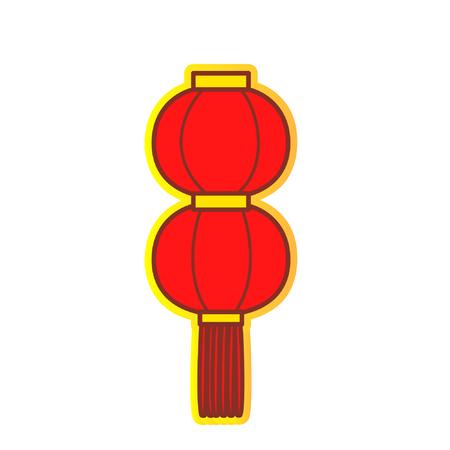 Cartoon lantern Ilustração