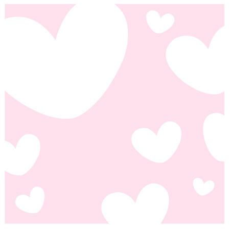 Lovely hearts background Иллюстрация