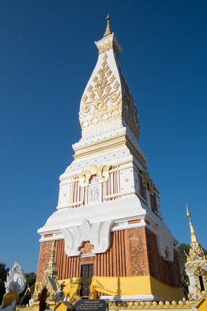relics: Buddha Relics Pagoda Nakhon Phanom Phra That Phanom Stock Photo