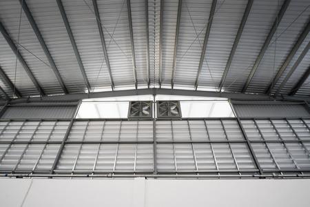 modular home: Metal Roofing Stock Photo