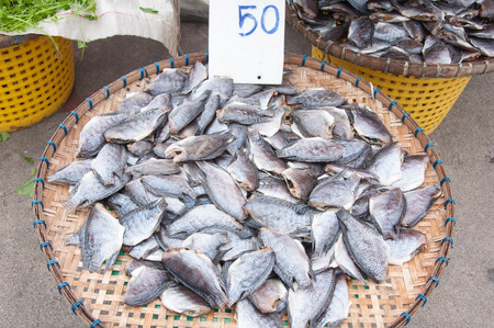 marinelife: Dried salted fish, Nile tilapia