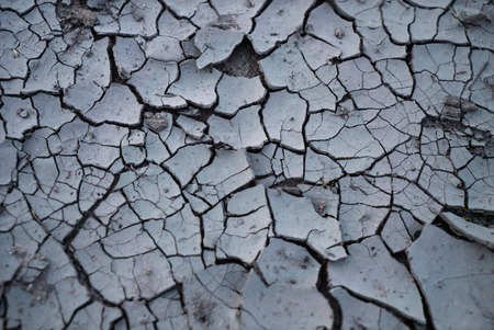 waterless: drought land so long waterless and dry without rain Stock Photo