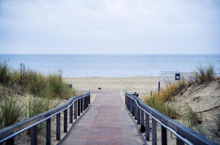 leer: Rerik Steg path to the beach and sea