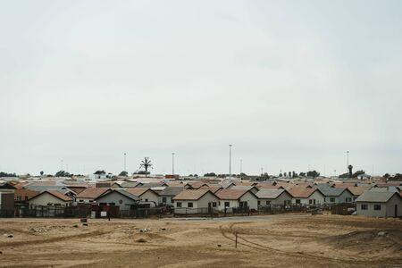 African village near town of Swakopmund in Namibia