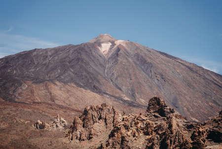 national park at Teide volcano in Tenerife in the beautiful atmosphere Zdjęcie Seryjne