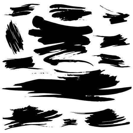 추상 격리 된 grunge 명소 및 배너. 개체가 그룹화 및 사용 칠하기 쉬운. 스톡 콘텐츠 - 36004492