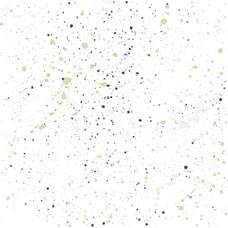 ink drops: Hand-made grunge texture. Seamless pattern. Abstract ink drops background Illustration