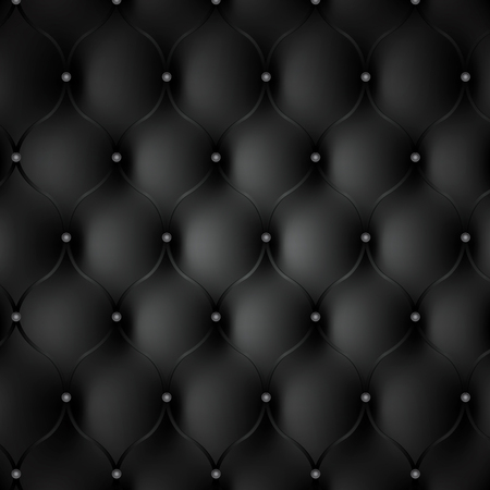 black leather: Black leather photo realistic background.