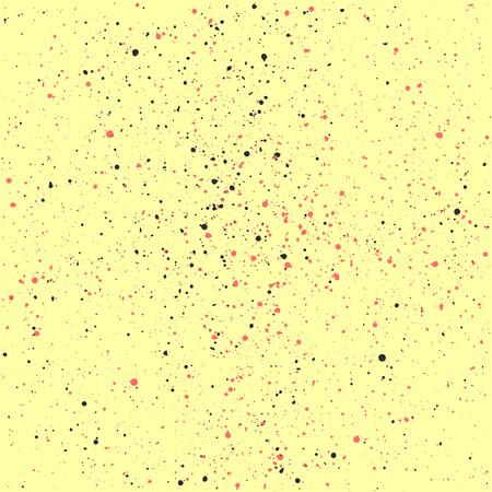 Gele grunge textuur achtergrond. Naadloze grunge patroon. Abstract vector template. Uitstekende presentatie achtergrond.