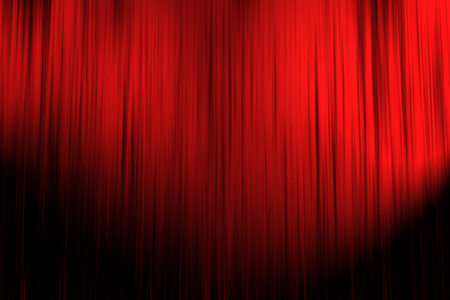 rote Vorhang