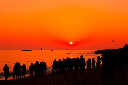 sunup: New Years Sunrise.