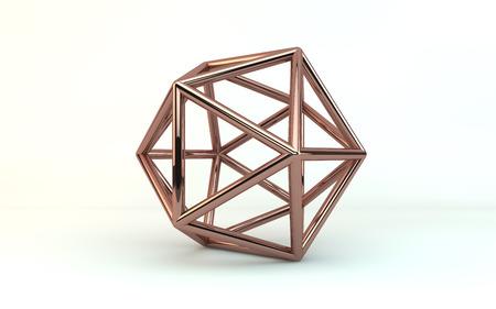 icosahedron: Copper Geometry
