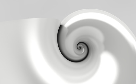 3d illustration of the golden ratio Stock Photo
