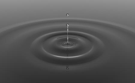 od: 3d illustration od a water drop