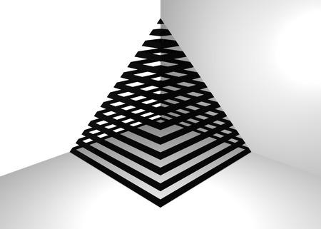 stripes: stripes pyramid