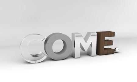 come: Come Stock Photo