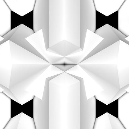 black light: geometric pattern