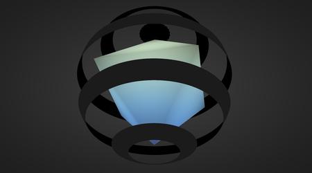 sphere: 3d illustration of sphere