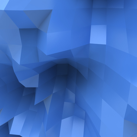 3d illustration geometric